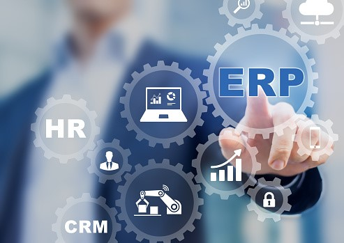 ERP and a CRM