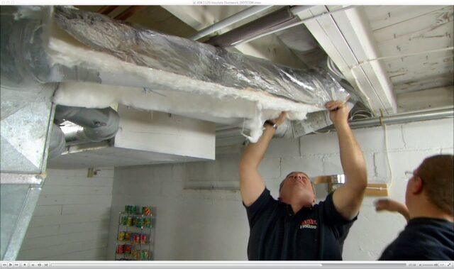 Ductwork Insulation