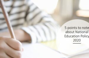 5 points to note about National Education Policy 2020