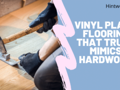 Vinyl plank flooring that truly mimics hardwood